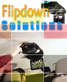 All-In-One Flipdown Monitors