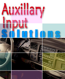 Auxillary Input Adapters